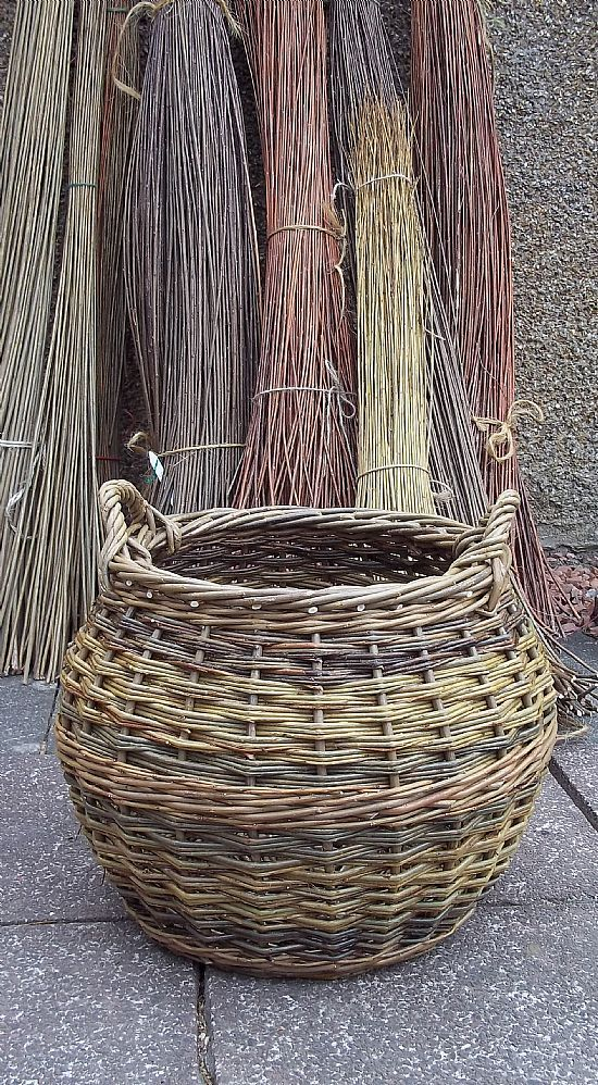 Willow Basket Weaving How To : John cowan scottish baskets hand made traditional willow