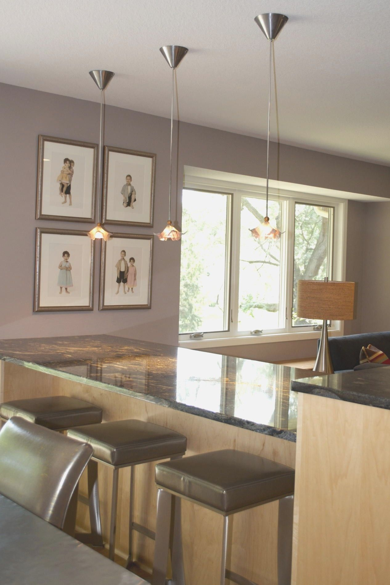 Kitchen Pendant Lights Over Island Hanging How Many A