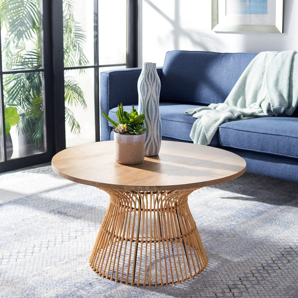 Whent Round Coffee Table In 2021 Coffee Table Round Wood Coffee Table Round Coffee Table [ 1024 x 1024 Pixel ]