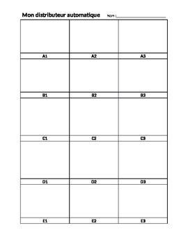 vending machine spreadsheet template