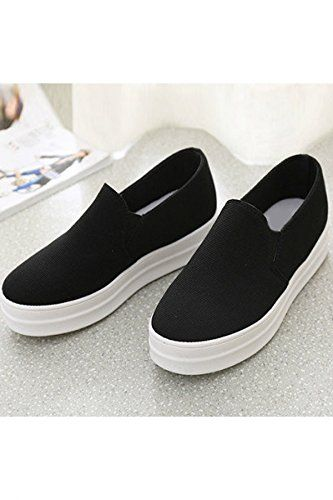 sports shoes 54c34 ea4f5 Azbro Mujer Slip-Ons Zapatillas de Plataforma  Amazon.es  Zapatos y  complementos