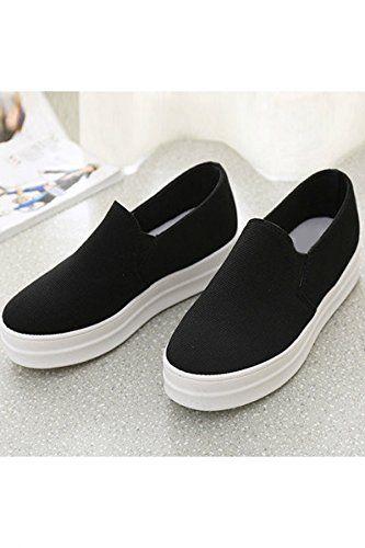 acd978c5d8a Azbro Mujer Slip-Ons Zapatillas de Plataforma  Amazon.es  Zapatos y  complementos Instagram   isabella  martinezr