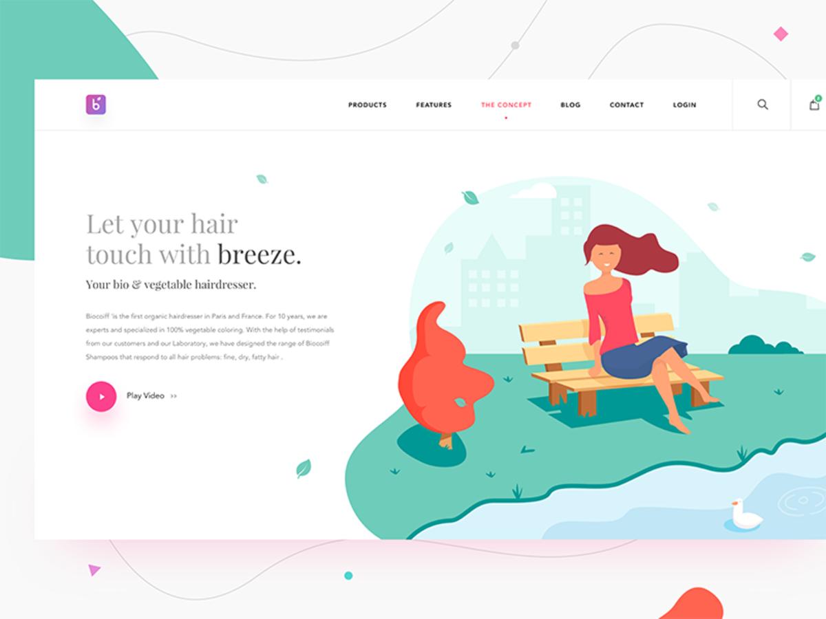 Design Inspiration 156 Web Design Examples Salon Concepts Web Inspiration