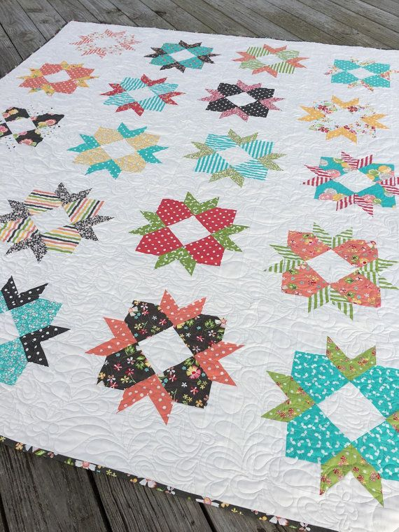 Pdf Cake Blossoms Layer Cake Friendly Quilt Pattern Layering