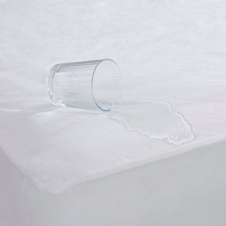 Silentnight Waterproof Mattress Protector Double In 2020 Waterproof Mattress Silentnight Waterproof Mattress Cover