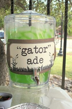One blessing after another...: An Alligator Swamp Party!                                                                                                                                                     More