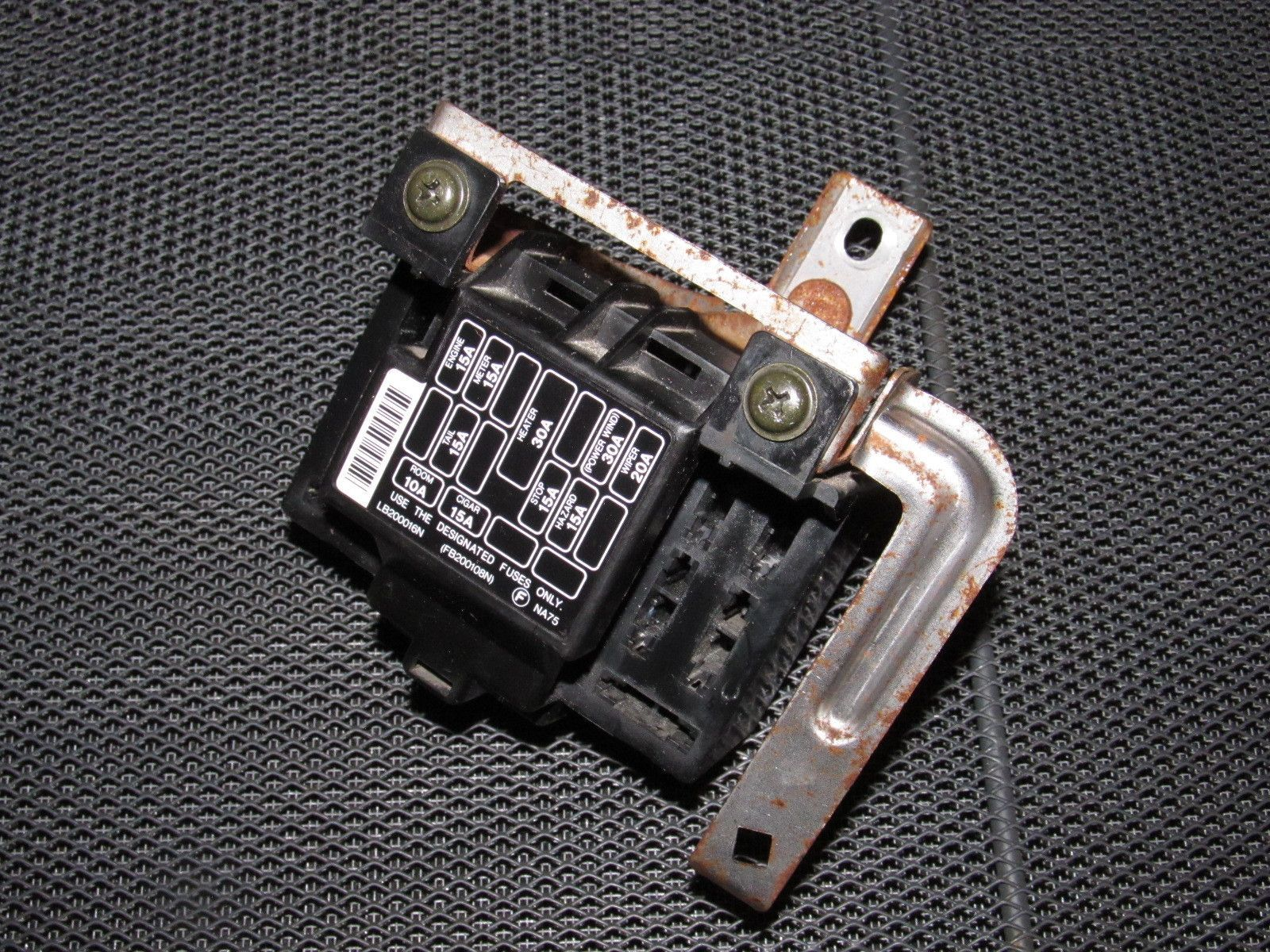 medium resolution of 94 95 96 97 mazda miata oem interior fuse box