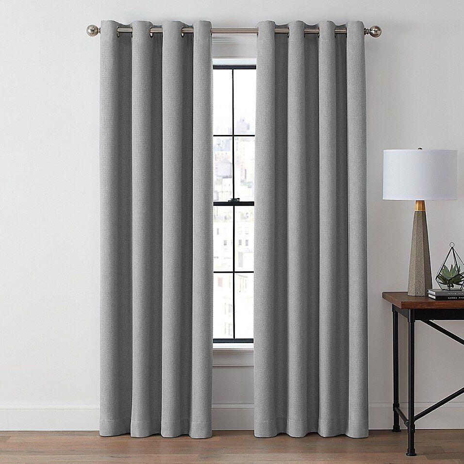 Blackout Window Curtain Panel In Slate