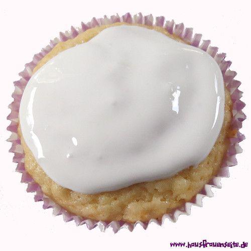 Schneeweisser Zuckerguss Rezept Mit Bild Rezept Sussgeback Cupcakes Backen Zuckerguss