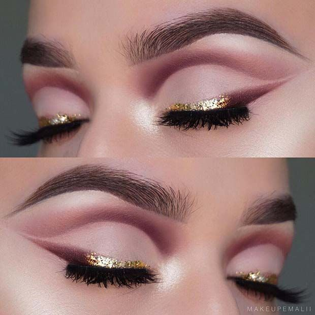 Photo of 45 Glamorous Makeup Ideas for New Year's Eve | Page 4 of 4 | StayGlam –   – #Eve…