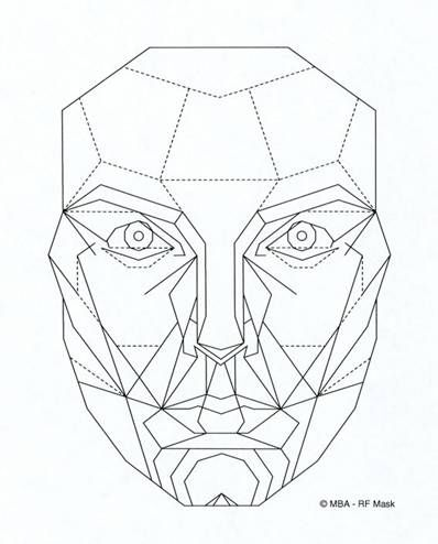 Does Your Face Fit The Golden Ratio Geometric Face Face Drawing Face Template
