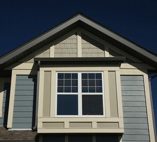 James Hardie Fiber Cement Siding In Gray Slate Plank Shake