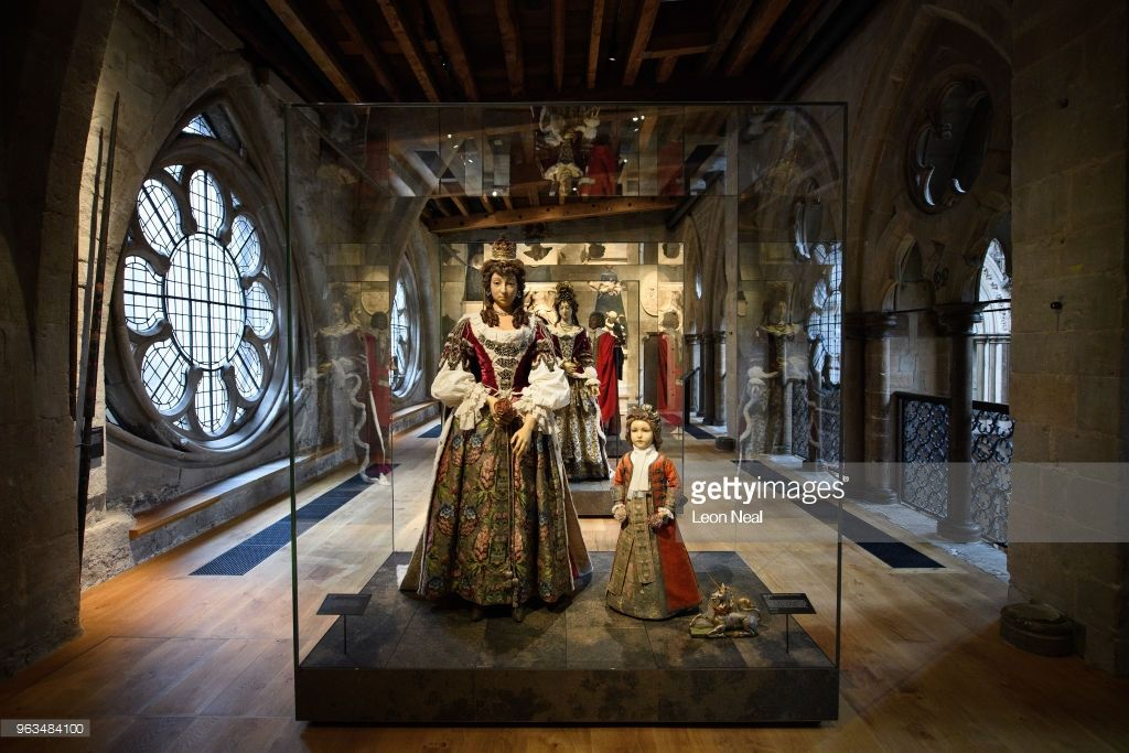 Inside The Queen S Secret Attic Westminster Abbey Gallery Royalty Free Stock Photos