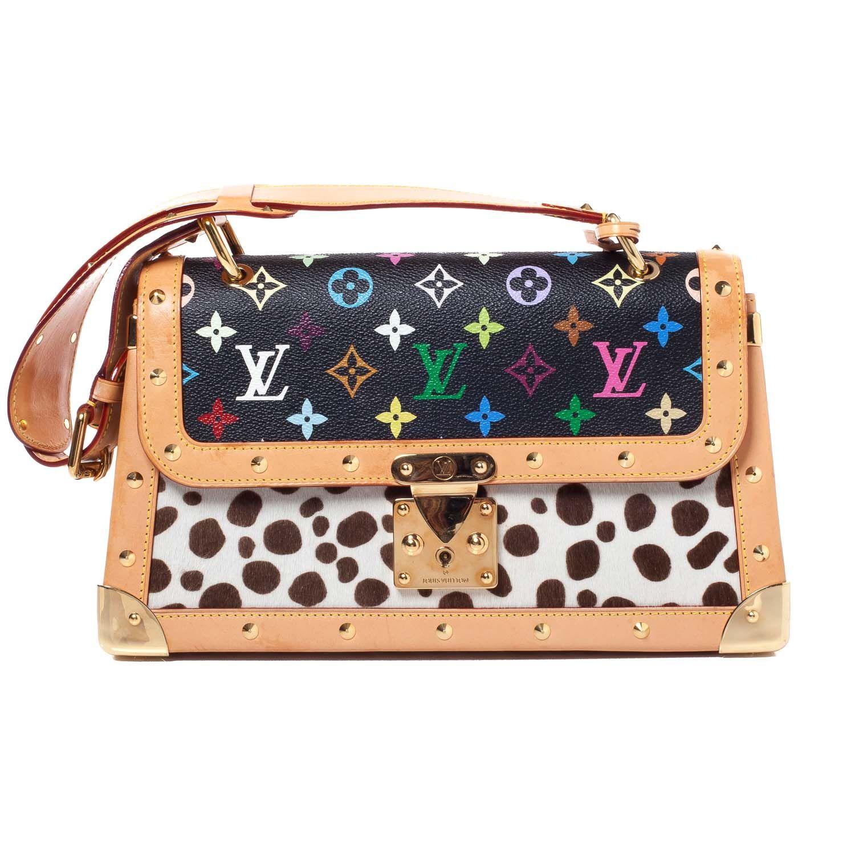 fd56c895cff7 LOUIS VUITTON Multicolor Dalmatian Sac Rabat   purses bags   Louis ...