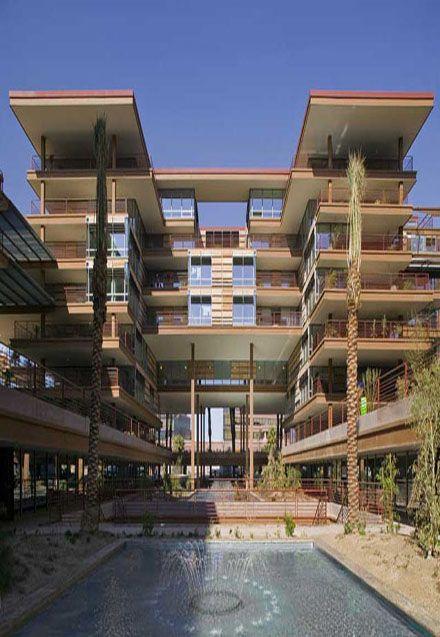 Optima Camelview Condos Scottsdale Arizona Crazy Houses Modern Residential Architecture Condo