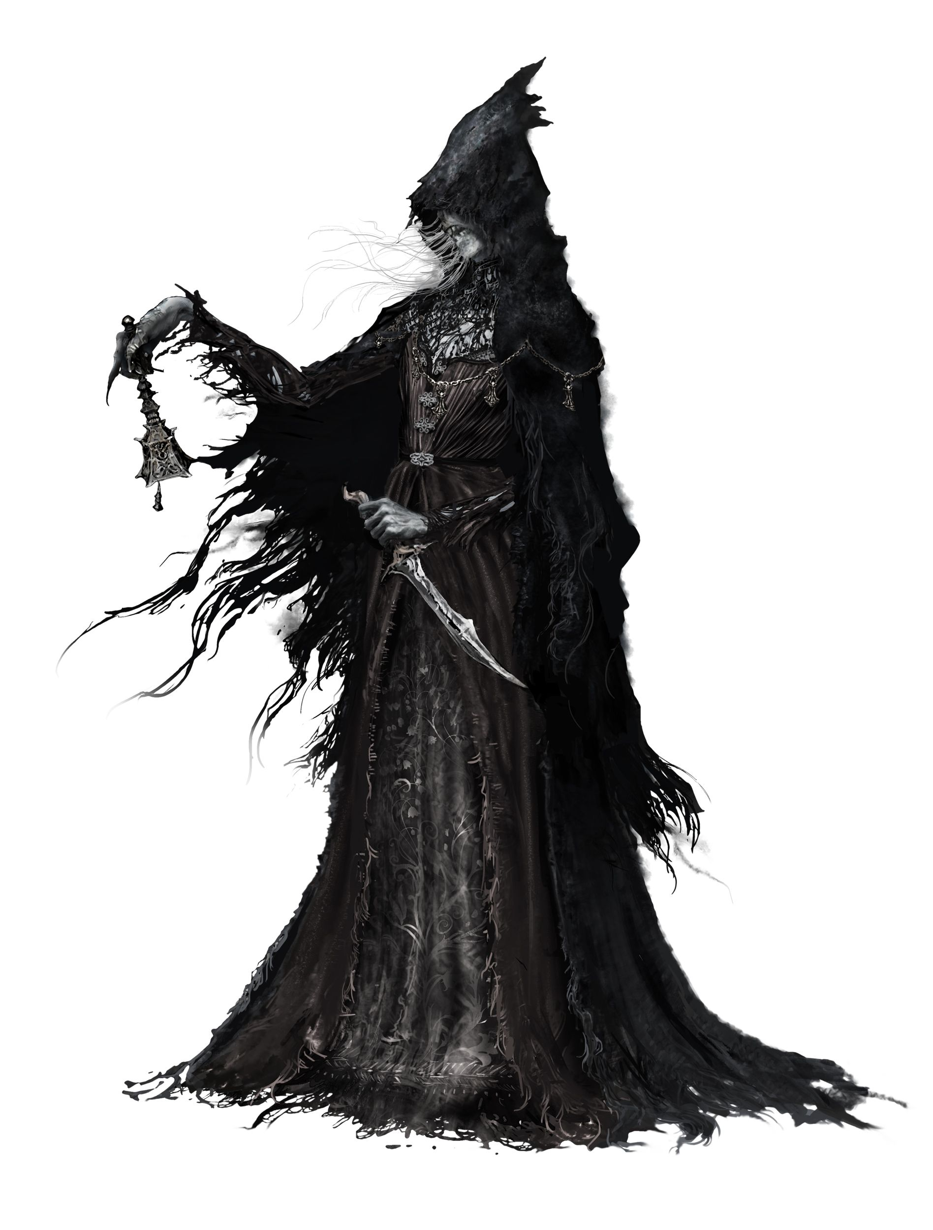Bloodborne Concept Art Character