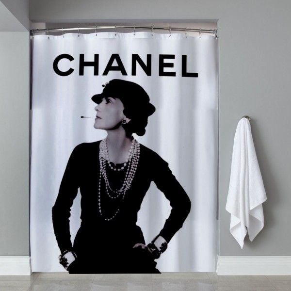Coco Chanel Chic Lifestyles From Assouline Shower Curtain