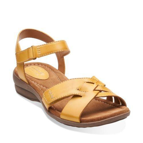c8f77bd5a18c Reid Laguna Honey Leather - Womens Wide Width Shoes - Clarks
