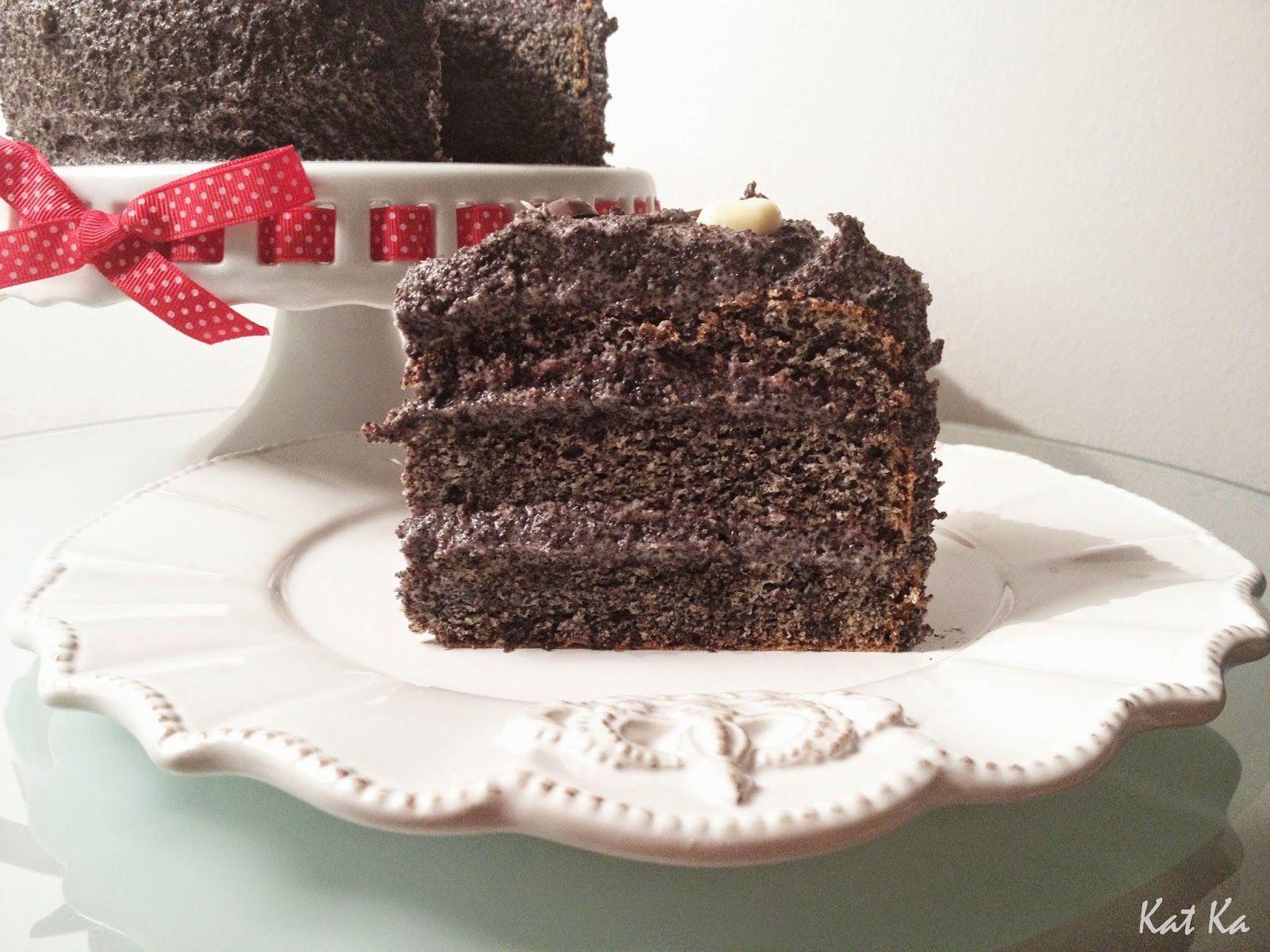 Baking moments: Bezlepková maková tortaMilujem mak... Podobnú tort...