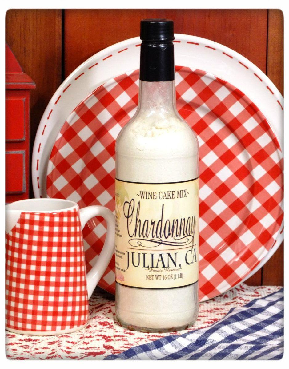 Chardonnay Wine Cake Mix Julian Ca Chardonnay Wine Wine Cake Cake Mix