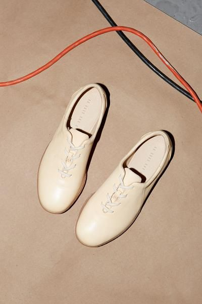 Ahaas Low Natural Top Leather Sneaker in Natural Low Leather Zapatos Pinterest 745d85