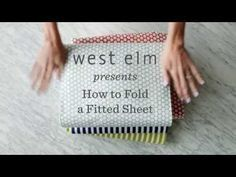 The Super Easy Way To Fold A Fitted Sheet