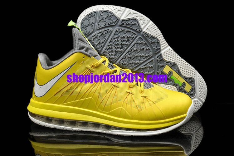 yellow lebron shoes