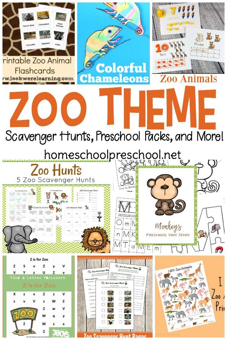 25 Preschool Zoo Printables and Activities Zoo preschool