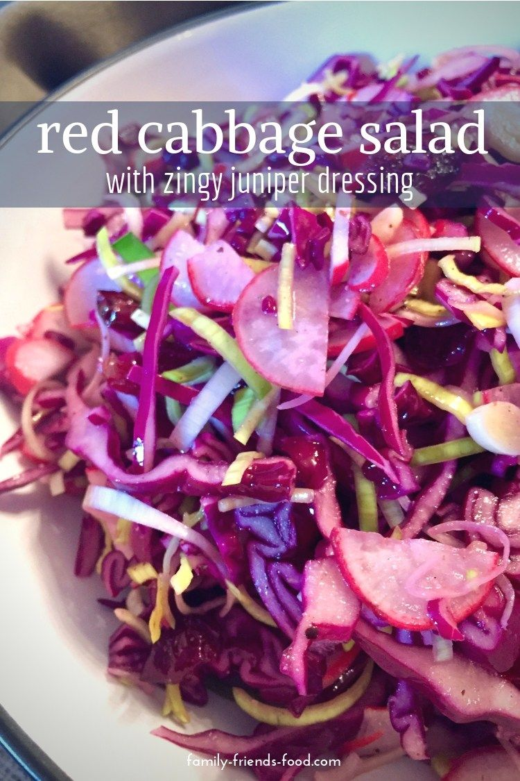Red Cabbage Slaw With Zingy Winter Dressing Recipe Food Recipes Food Kosher Recipes