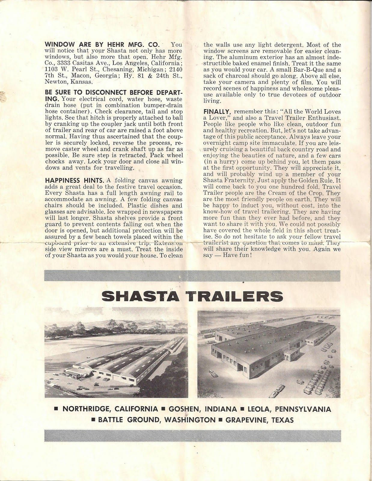 Vintage 1967 Shasta Travel Trailer Shasta, Oregon gifts