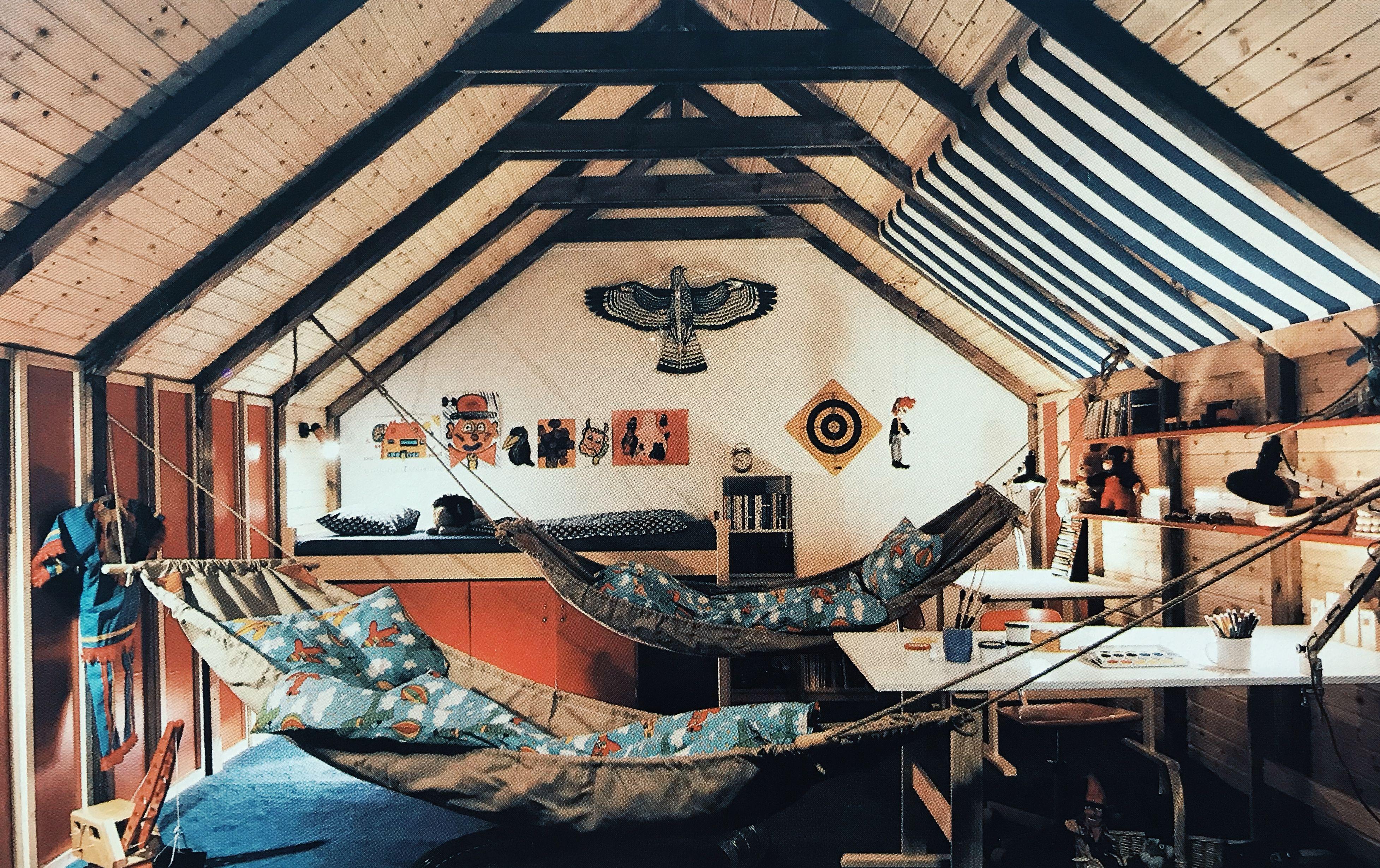 Terence conranus new house book kids rumpus room reclaimed beams