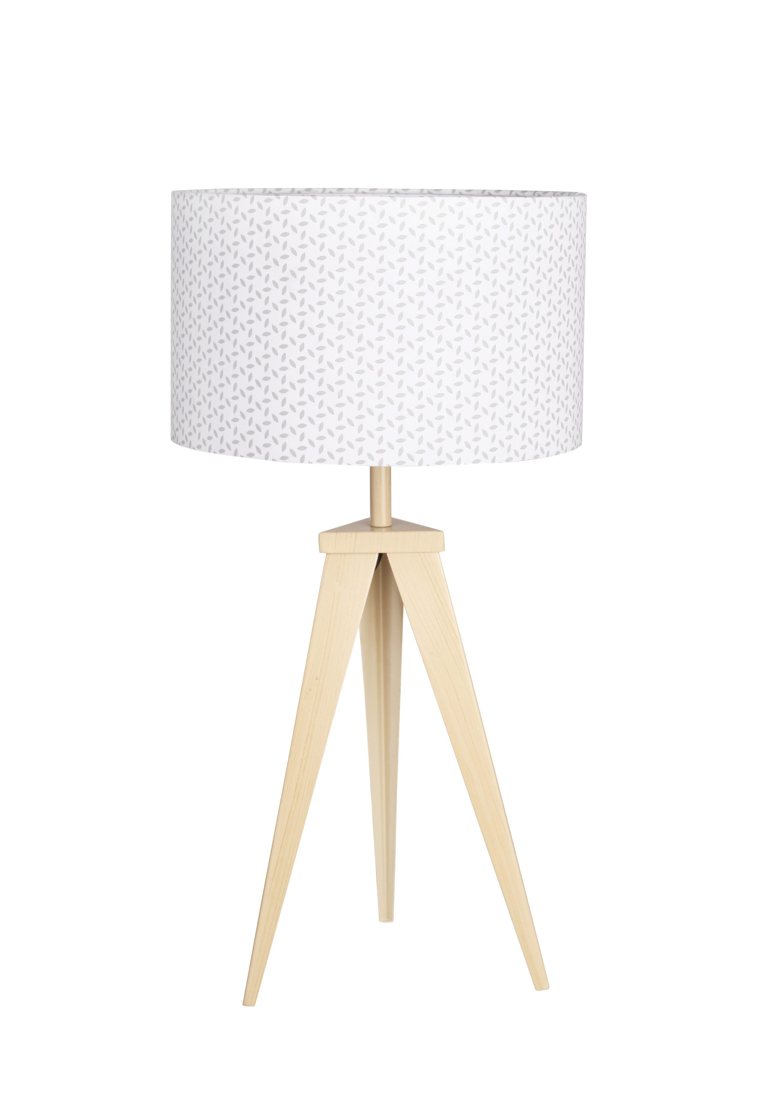 Lampe A Poser Tripod Montreal Naturel Lamp Lampe A Poser
