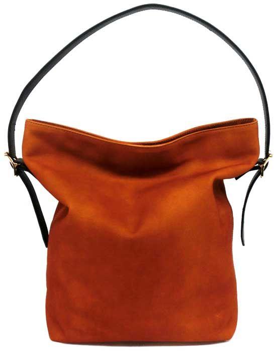 Shoulder Bag A Waterproofing Nubuck Leather