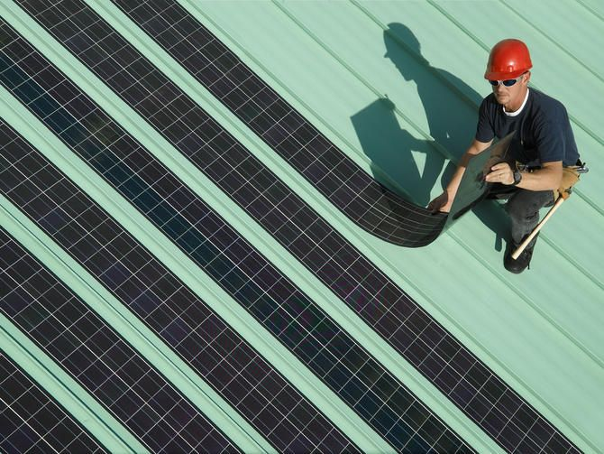 Solopower Rolls Out Flexible Rooftop Solar Panels Flexible Solar Panels Solar Roof Solar Panels