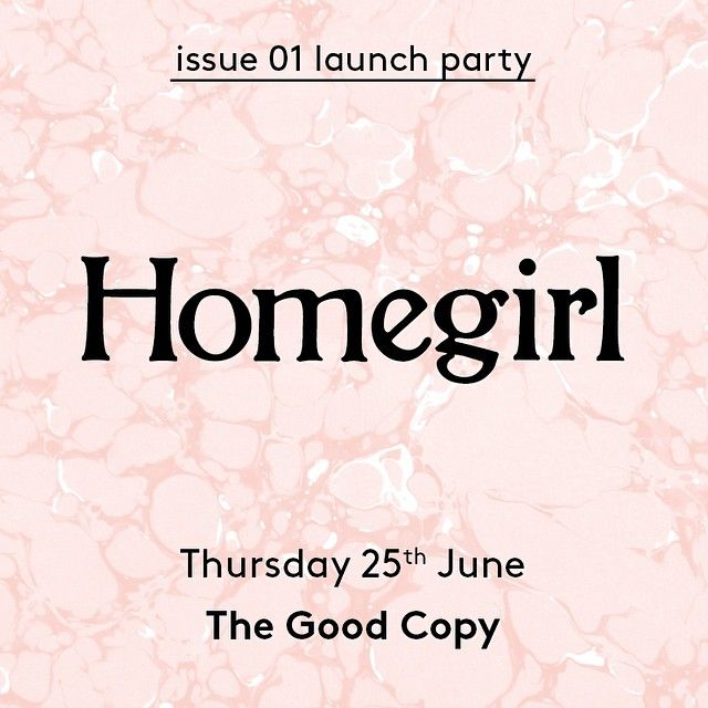 Homegirl zine in Australia