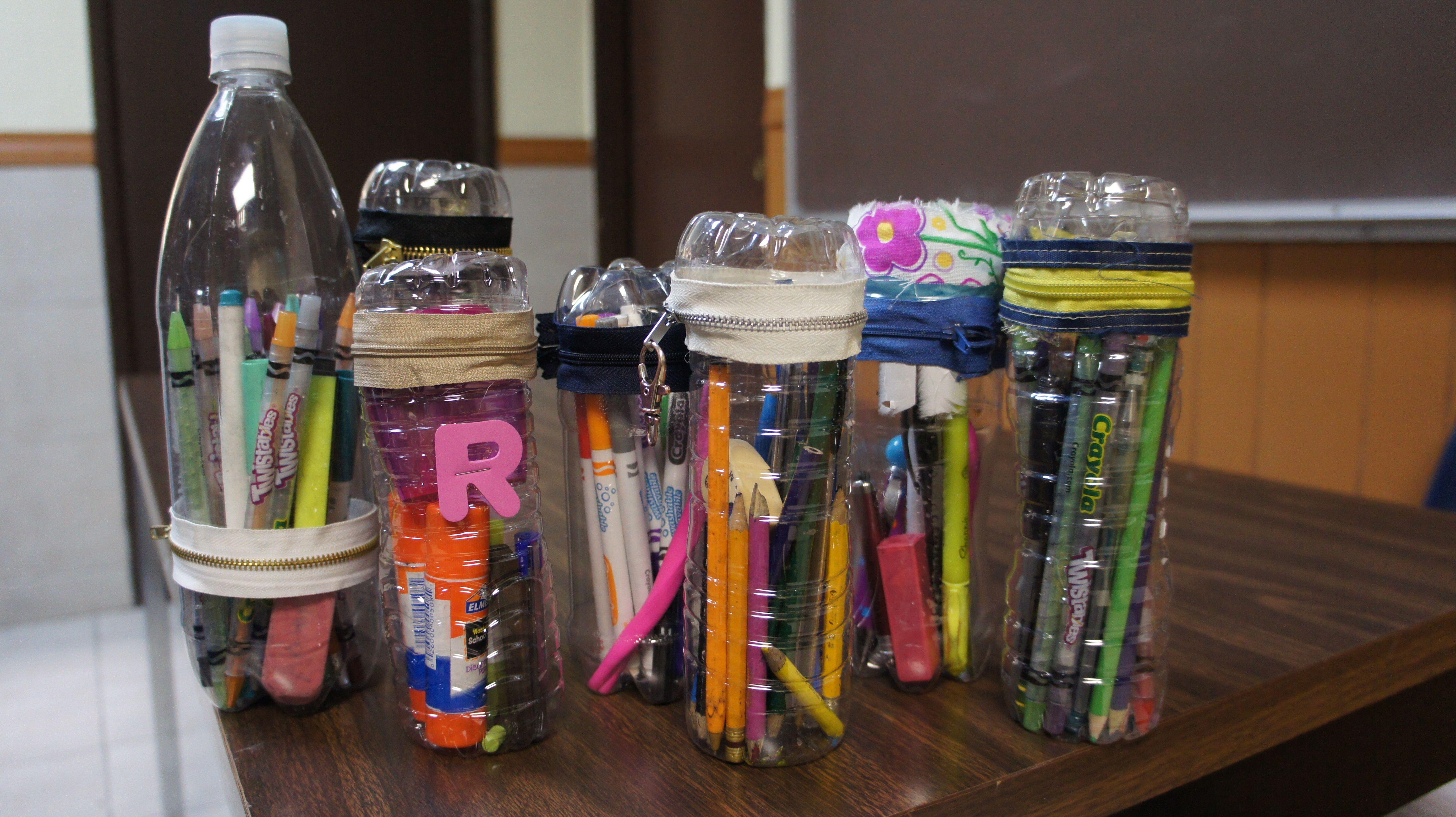 Lapiceros reciclados, material con tiempo de vida útil!