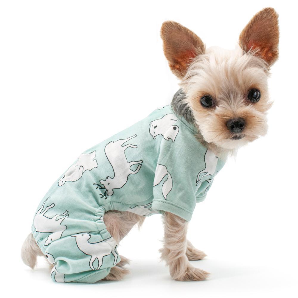 Dogo Pj Polar Bear Dog Pajamas Bear Dog Baby Dogs