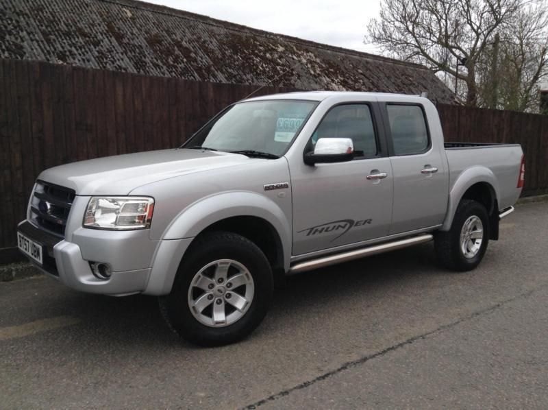 2008 Ford Ranger 2 5tdci 143ps 4x4 Xlt Thunder Double Cab Carros Vans Caminhoes