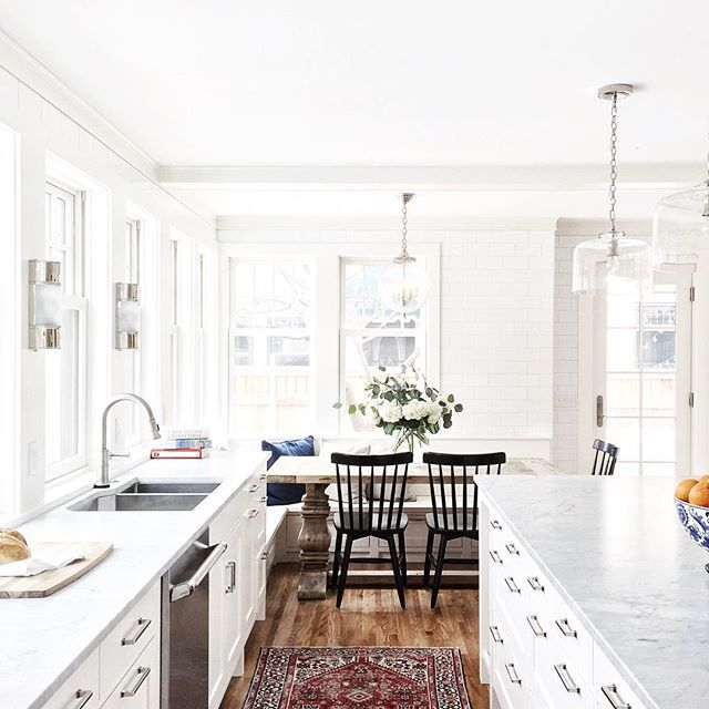 Download Wallpaper Black And White Kitchen Nook
