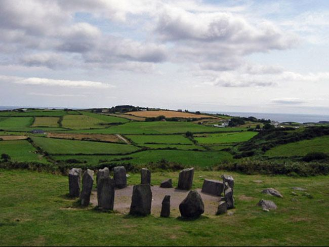 Drombeg Stone Circle, County Cork.