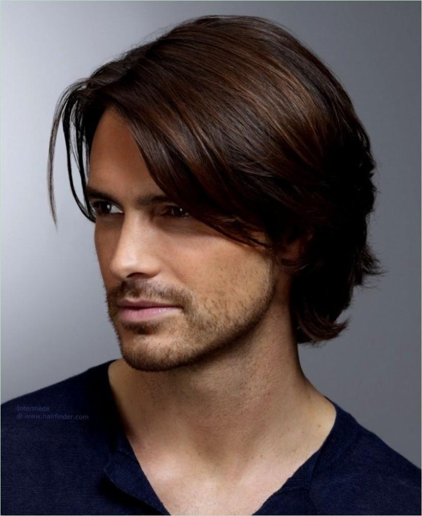 Styling lange haare manner