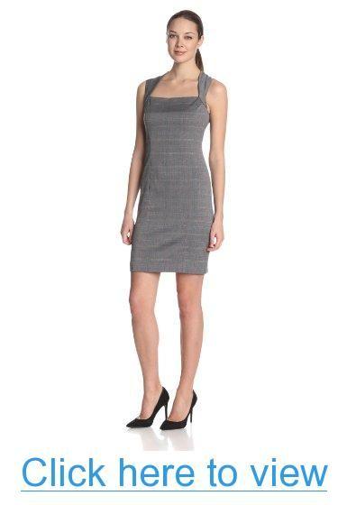 Anne Klein Women's Novelty Suiting Sheath Dress #Anne #Klein #Womens #Novelty #Suiting #Sheath #Dress
