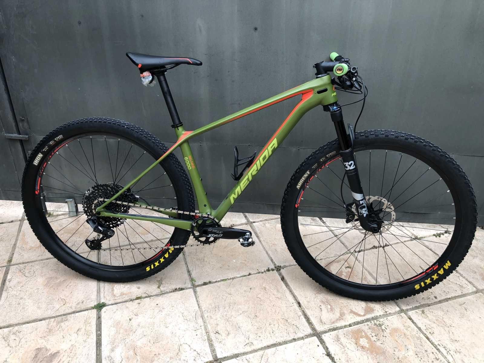 Bicicleta Merida Big Nine En Talla M 56990 Categoría Bicicletas De Montaña Año 2018 Cambio Sr En 2020 Bicicletas Deportivas Bicicletas Mountain Bike Bicicletas