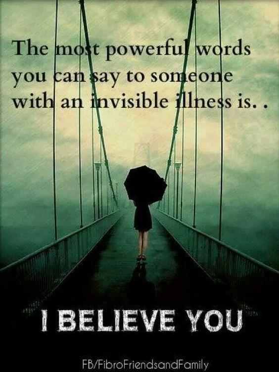 It (chronic illness/pain)