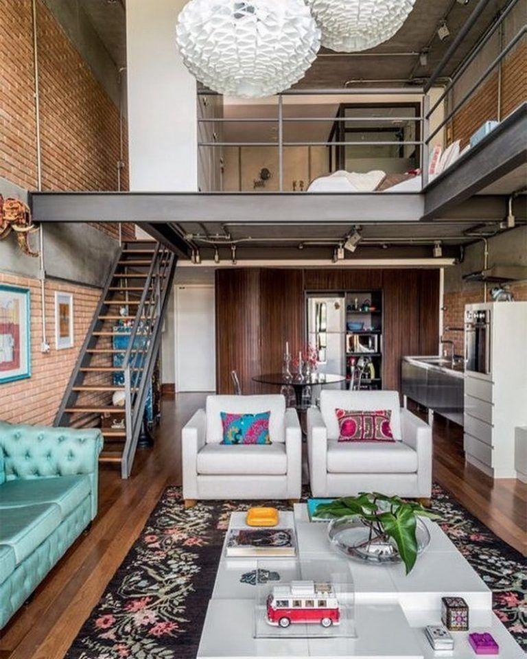 Modern Rustic Living Room Ideas Studio Apartment Decorating