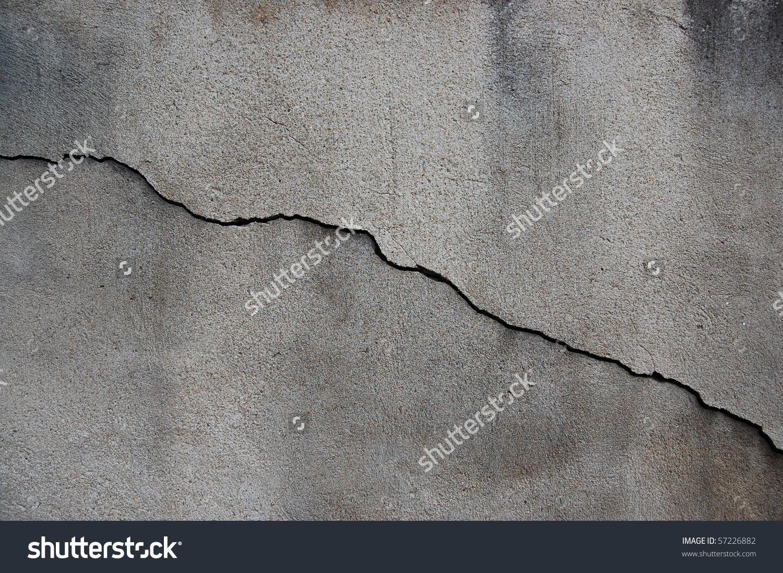 Wall, crack