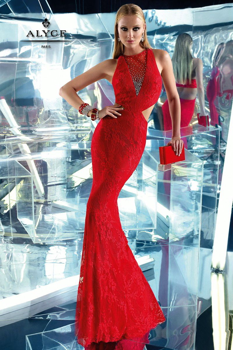 Prom Dresses Evening Dresses by B\'Dazzle for Alyce Paris<BR>35770 ...