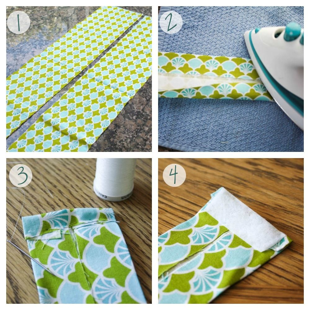DIY Fabric Curtain Ties