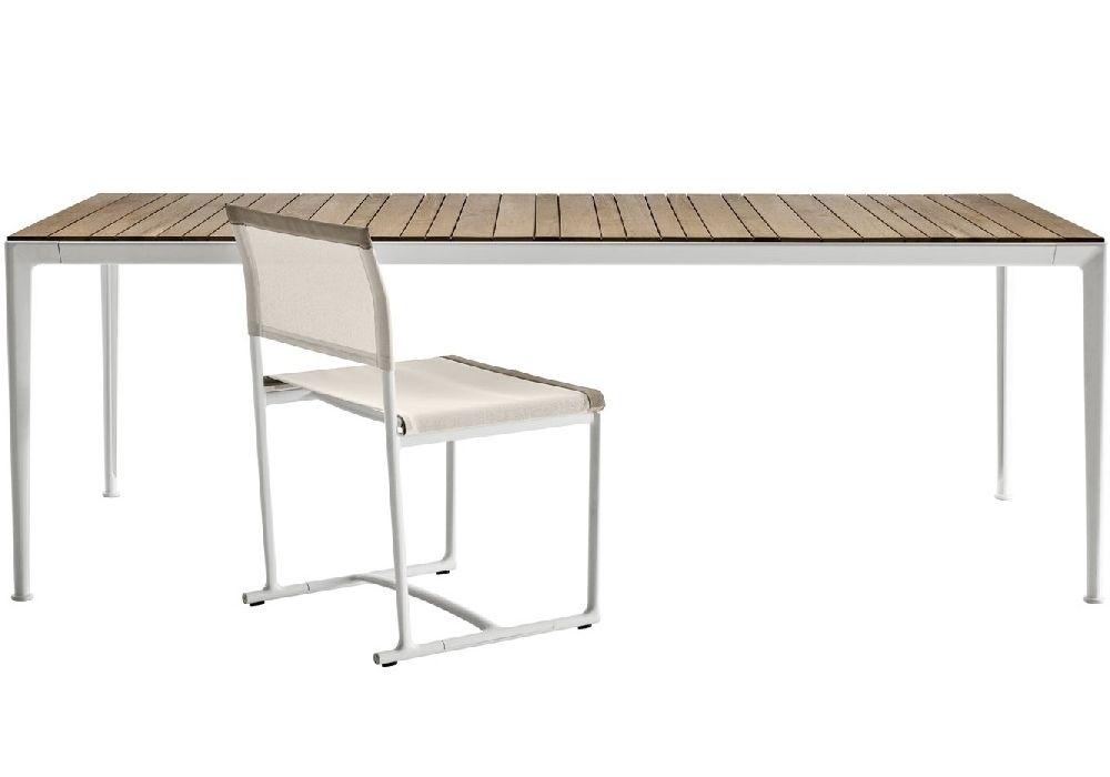 Mirto Iroko Wooden Table B&B Italia
