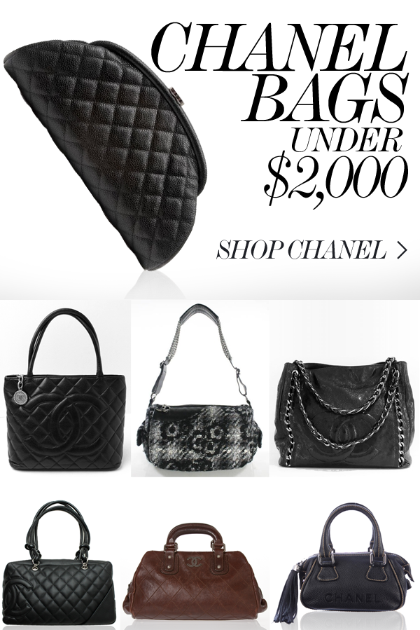 8fa7eb5c27b5 CHANEL BAGS UNDER $2,000   Nothing but bags in 2019   Bags, Chanel ...